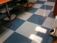 Floor after Refinishing
