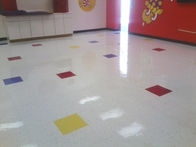Refinished Floor with (High Shine)